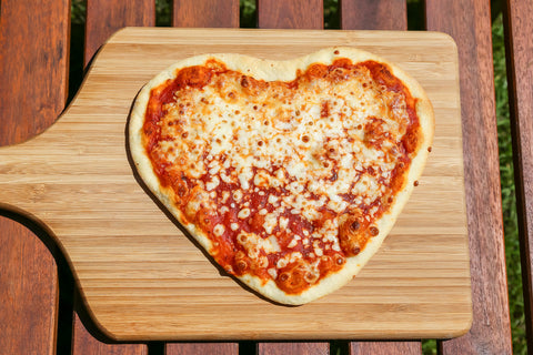 Italian love with pizza