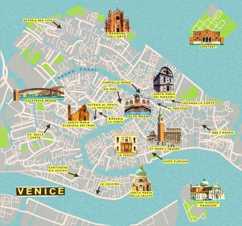 Tourist Places of Venice