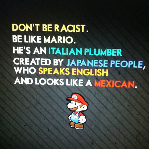Mario Italian Speaking English