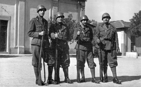 Italian Soldiers World War II