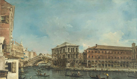 View of Rialto Bridge