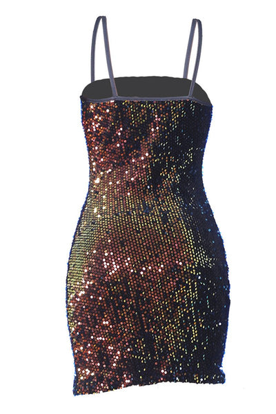 Sequins Cami Party Dress