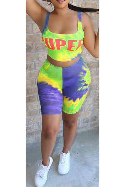 Super Tie Dye Two PC Sets