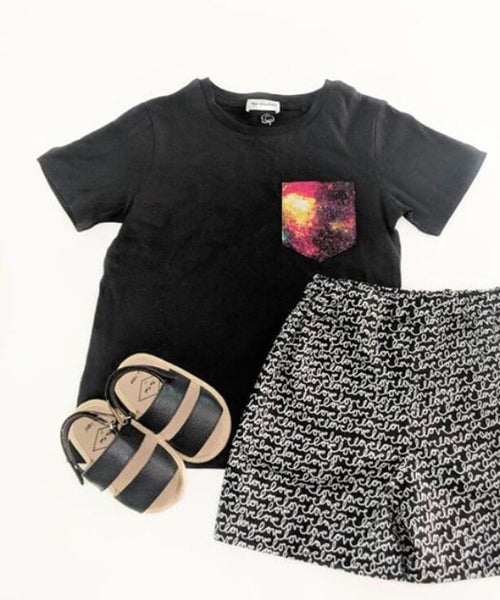 Pocket Tee & Shorts Set