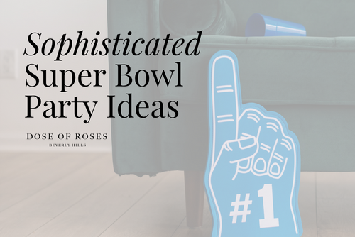 Elevate Your Super Bowl Party With These Elegant Ideas