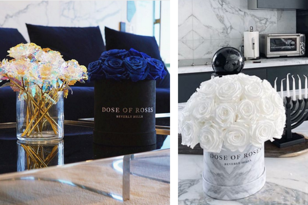 elegant hanukkah party decor ideas by dose of roses