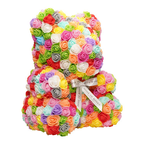 Dose of Roses - Rainbow Rose Bear -