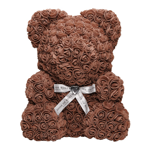 Dose of Roses - Brown Rose Bear -
