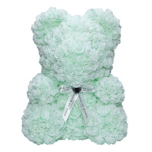 Lime Frost Rose Bear