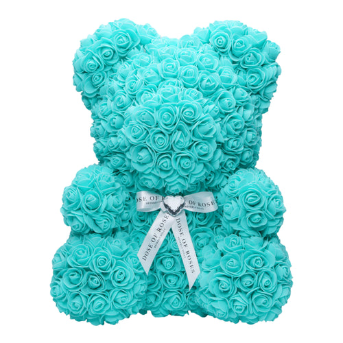 Dose of Roses - Tiffany Blue Rose Bear -