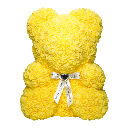 Dose of Roses - Yellow Rose Bear -