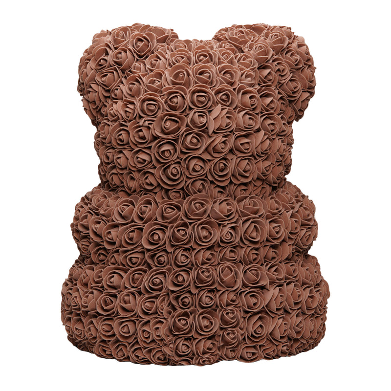 Dose of Roses - Brown Rose Teddy Bear -