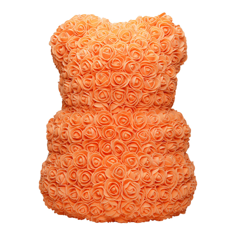 Dose of Roses - Orange Rose Bear -