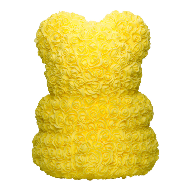 Dose of Roses - Yellow Rose Teddy Bear -