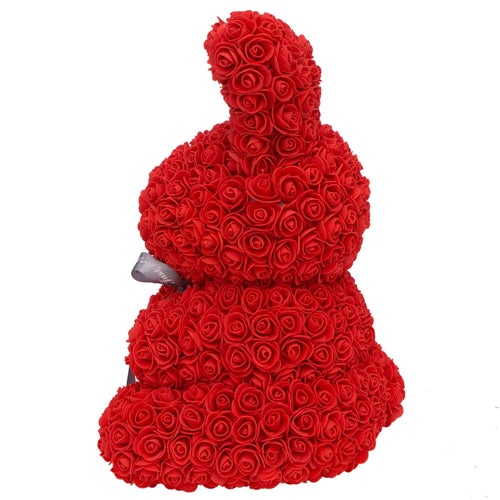 Dose of Roses - Red Rose Bunny -
