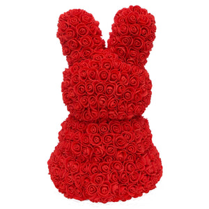 Red Rose Bunny (Back)