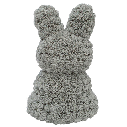 Dose of Roses - Gray Rose Bunny -
