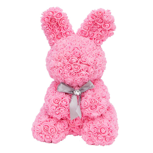 Dose of Roses - Pink Rose Bunny -
