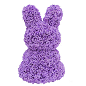 Purple Rose Bunny
