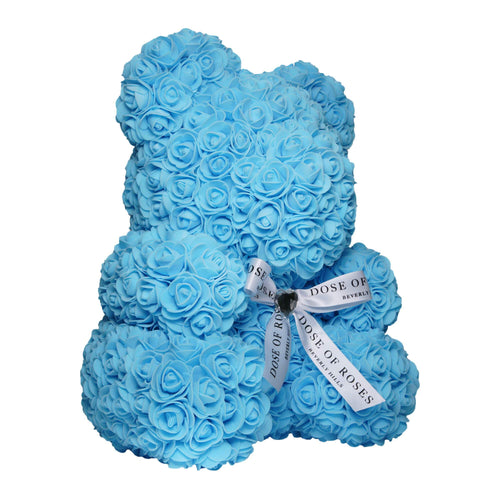 Dose of Roses - Blue Rose Bear -