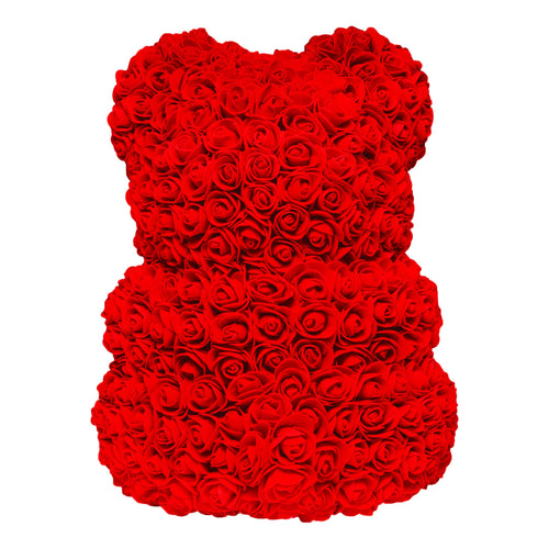 Dose of Roses - Love Heart Rose Bear -