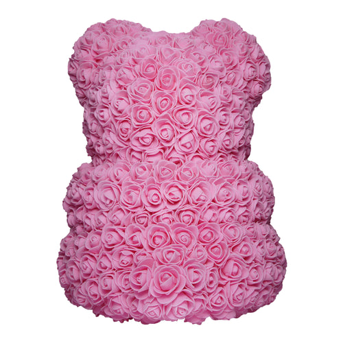 Dose of Roses - Pink Rose Bear -