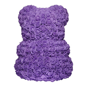 Purple Rose Bear Back