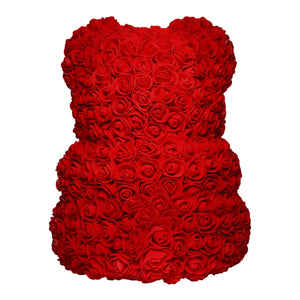 Red Rose Bear Back
