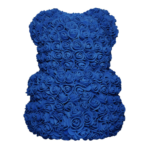 Dose of Roses - Royal Blue Rose Bear -