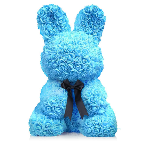 Dose of Roses - Blue Rose Bunny -