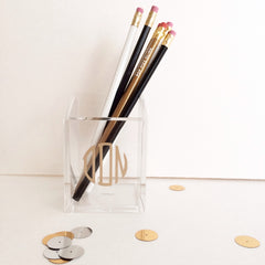 Monogram Pencil Holder