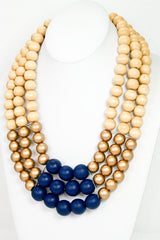 Full Bauble Neck - BlueGold