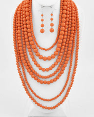 Bead Layer - Coral
