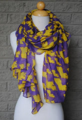 LSU Gameday State Scarf