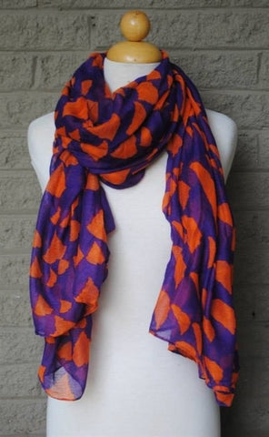 Clemson Gameday State Scarf