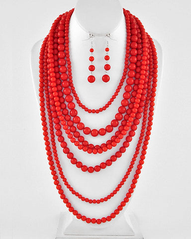 Bead Layer - Red