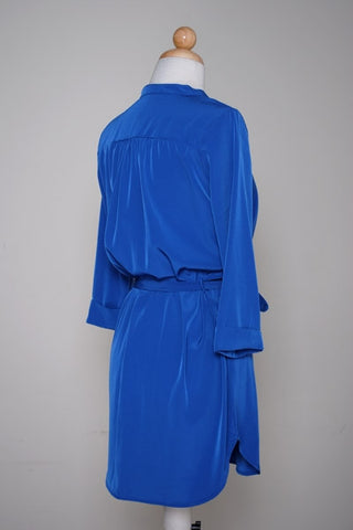 Tie Me Dress in Blue