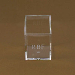 Engraved Acrylic Pencil Holder