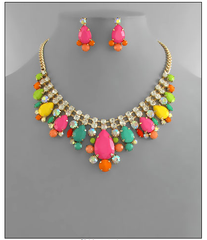 Neon Candy Necklace
