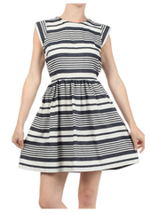 Stripes Away Dress