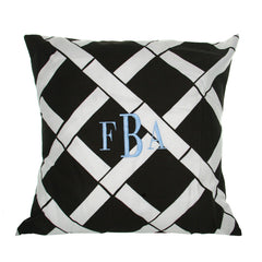 Monogrammed Bamboo Pillow