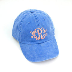 Monogram Denim Ball Cap