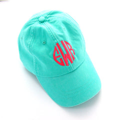 Monogram Seafoam Ball Cap
