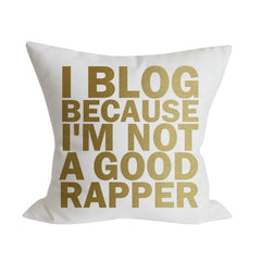 I BLOG Pillow Cover