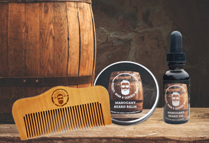 Mahogany Beard Bundle