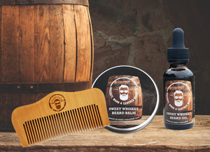 Sweet Whiskey Beard Bundle