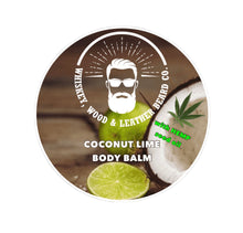 Load image into Gallery viewer, Coconut Lime Body Balm
