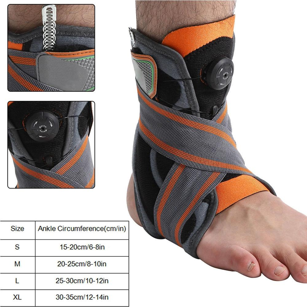 Functional Knob Type Ankle Brace Stabilizer Ankle Protection Support Corrector
