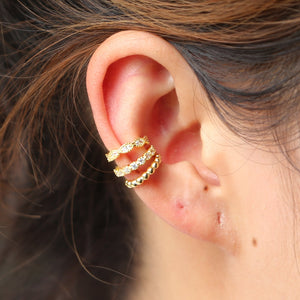 clip ear cuff stacking cuffs earrings no piercing