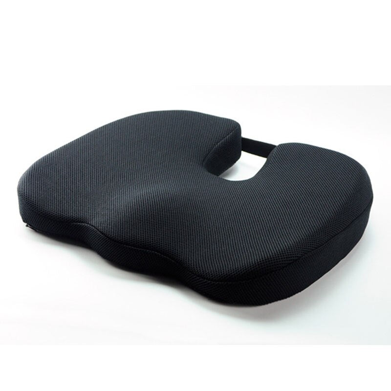 Memory Foam Seat Car Office Chair Cushion Pad for Sciatica Pain Relief Pillow